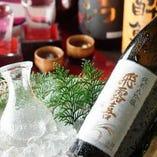 九州各地の日本酒、焼酎がずらり!【鹿児島県】
