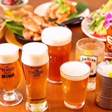 こだわりの「クラフトビール」「ドラフトビール」8種
