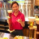 こだわりのビールとハワイ料理を堪能。飲み放題付コース3500円~