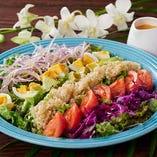 横浜でハワイの名物料理を堪能【-】