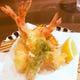 プリップリの食感!車海老の天ぷら