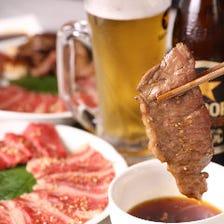 美味しいお肉と玄米・厳選米のコンビ