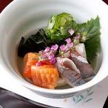 【寿司会席】 旬の食材を使用した京料理でおもてなしいたします