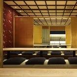 【店内②】人気の個室:4~50名様まで対応できます。