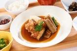メロカマの煮付け御膳 ~職人が作り出す最高の煮魚~