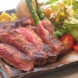 オーストラリア牛ステーキ