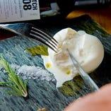 クリーミー ブッラータチーズ