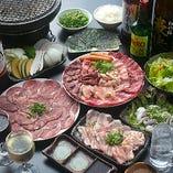 【全27品】焼肉宴会『食べ放題』