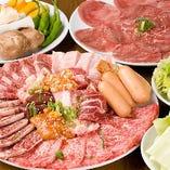 リピーター絶賛の肉質!!食べ放題の常識を覆します!