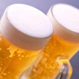 やはり、とりあえずビール!