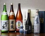 日本酒好きの店主おすすめの地酒を提供