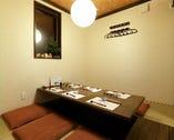 個室は全4室。つなげれば26名様まで着席でき、幅広い用途に使用可能