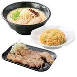 一麺定食(パーコー)