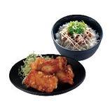 唐揚・ミニ丼セット