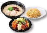一麺定食(タルチキ)