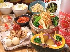 Vegetable Dining 畑舎
