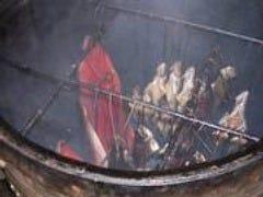 ウイスキー樽の燻製
