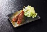串カツ(味噌orソース)2本