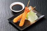 海老ふりゃ~串(味噌orソース)2本