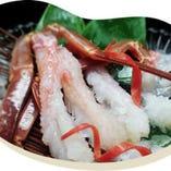 蟹の魅力を存分にご堪能いただける「まつ家蟹懐石」は冬季限定。