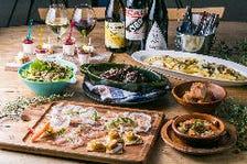 がっつりお肉と旬の食材、仲間とシェアする大皿プラン『BESIDE Plan』全6品