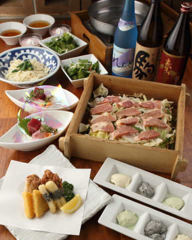 地鶏 せいろ蒸し 酉十郎 ラ チッタデッラ 川崎店 コースの画像
