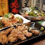 倉敷での宴会に最適◎焼鳥の宴会コース4,500円~♪