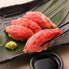 【OPEN記念☆】3時間飲み放題付「炙り肉寿司食べ放題コース」【2728円税込】