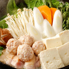 【冬季限定】鶏鍋 ※2人前より