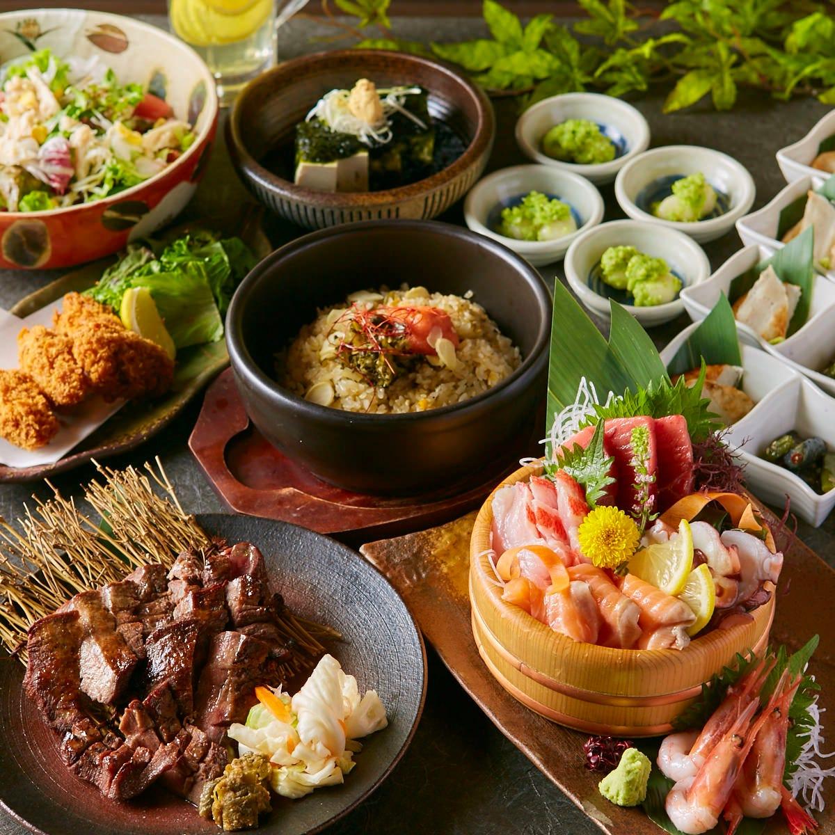 四季折々の創作和食は 会社宴会/接待/合コンに。