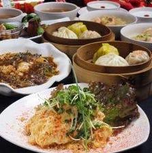 料理人が腕を揮う本格中華料理を堪能