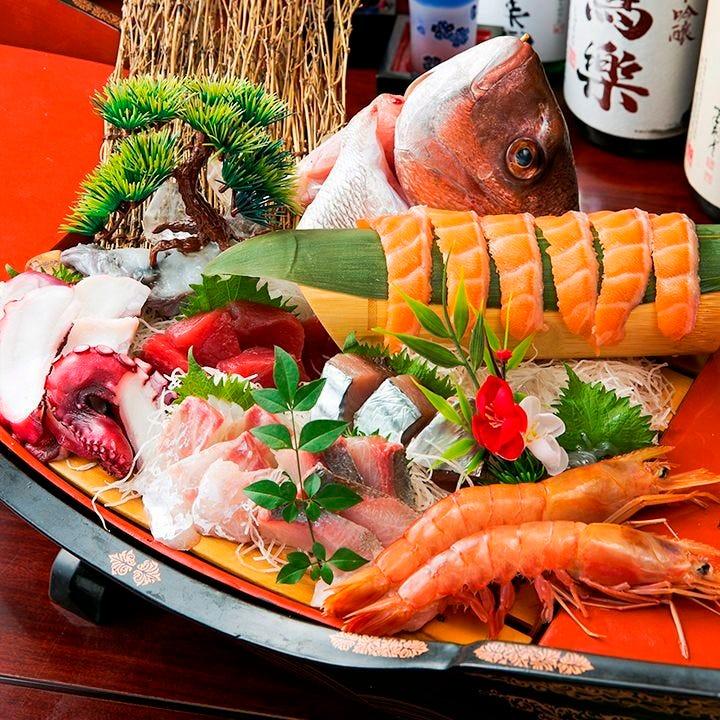 ポイント付♪【120分飲み放題付】厳選料理8品 「梅」コースプラン
