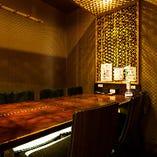 【店内】 贅沢な気分を満喫できる特別な空間で新潟の夜を満喫