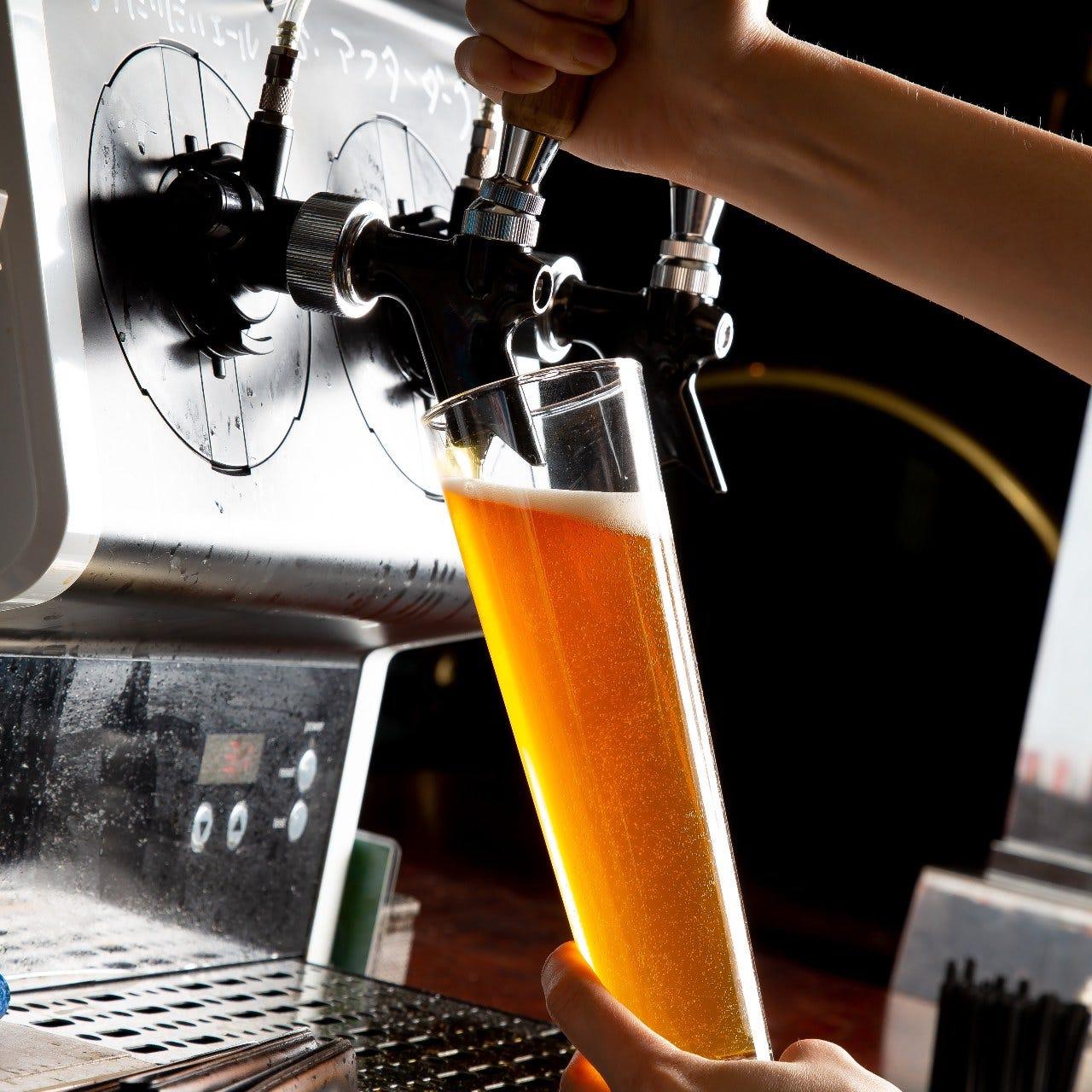 期間限定!!【クラフトビール6種含む★2時間飲み放題付パーティーコース】 4400円(税込)