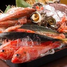 市場直送の鮮魚がお手軽価格で