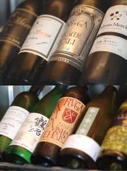 寿司×山梨ワインで乾杯!常備70種類