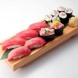 【New】最強本まぐろセットハーフ Fresh Bluefin  Tuna Combo (half serving )