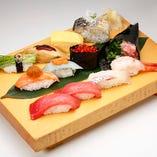 選抜上にぎりセット Finest Sushi Combo