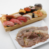 超豪華食べづくしセット Luxurious Sushi Combo