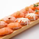 サーモンづくしセット Salmon Sushi Combo