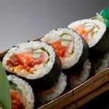 板前 海鮮太巻き Seafood Rolled Sushi