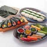 板前 手巻き寿司セット15本(3~4人前)Hand rolled sushi 15pieces(3~4 servings)