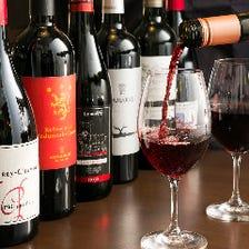 料理とワインのマリアージュを堪能