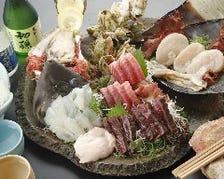 料理長自ら目利きした魚の鮮度は抜群