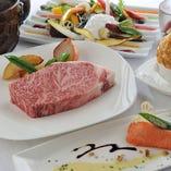 飛騨牛ステーキ ランチコース