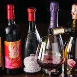 ワインセラーには世界の銘酒も