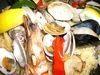 パスタやパエリアオードブル・お肉料理のあるコースです。