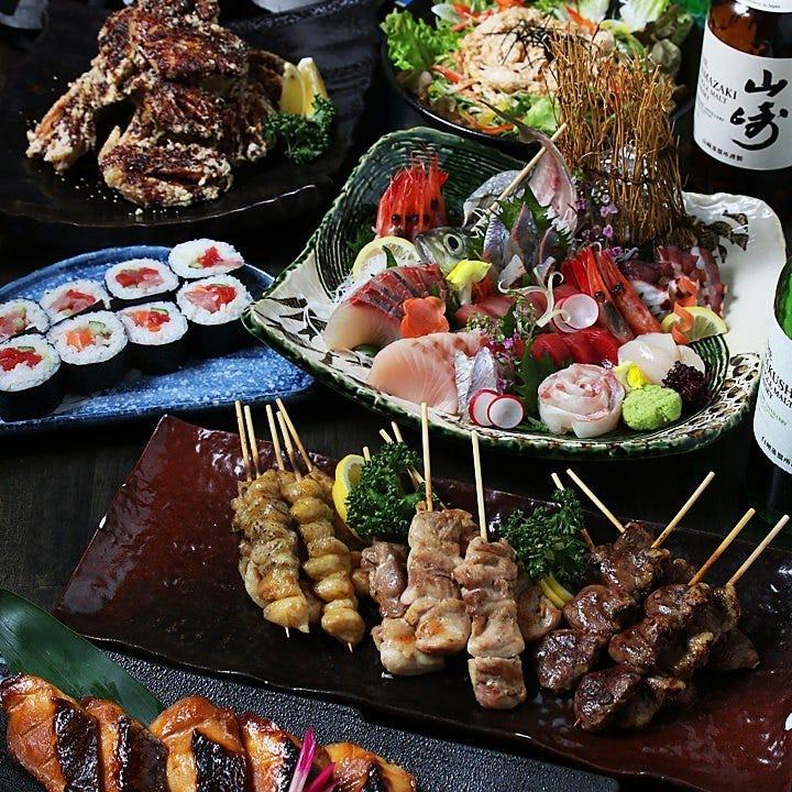 新鮮な海の幸と岡山料理を楽しむ多彩なコースはどんな宴会にも◎