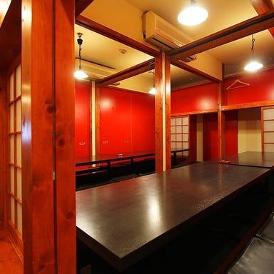 岡山料理と活魚の店 べんがら酒場  店内の画像