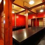 【3階】掘りごたつ席半個室(~6名様×12部屋)